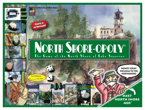 Northshoreopoly game Monopoly